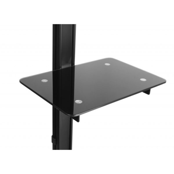 Vertical Tv Stand With Flat Solid Base Free Stand Or Under